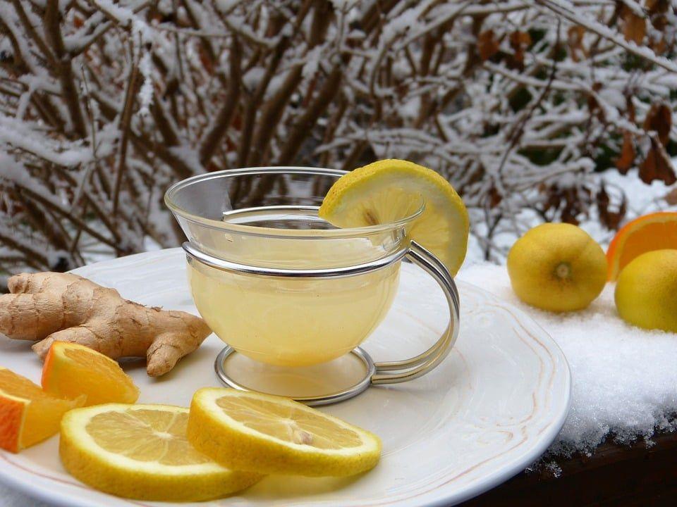 Cómo preparar Té de Jengibre y Cúrcuma