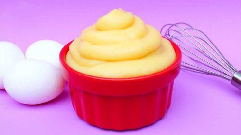 crema pastelera facil de hacer