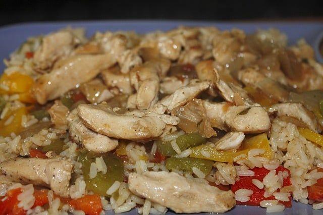 curcuma recetas arroz con curcuma y pollo